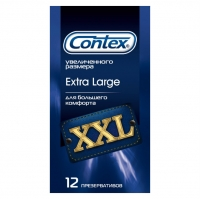 Презервативы Контекс Extra Large XXL упаковка, 12 шт.