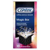 Презервативы Контекс Magic Box Приключение и развлечение набор 18 шт.