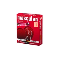 Презервативы Masculan Classic Нежные 3 шт.
