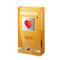 Презервативы Masculan Ultra утонченный латекс золотого цвета 10 шт.