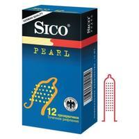 Презервативы Sico Pearl с точечным рифлением, 12 шт.