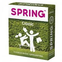 Презервативы Spring Classic классические 3 шт.