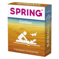 Презервативы Spring Contour контурные 3 шт.