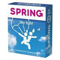 Презервативы Spring Sky Light ультратонкие 3 шт.
