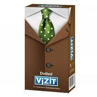 Презервативы VIZIT Dotted с точечным рифлением 12 шт.