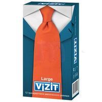 Презервативы VIZIT Large увеличенного размера 12 шт.