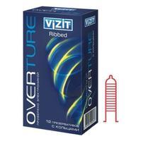 Презервативы VIZIT с кольцевым рифлением 12 шт.