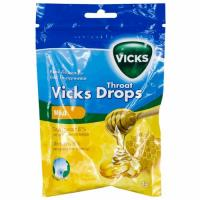 "Викс леденцы (vicks throat drops)""мед"" 75г"