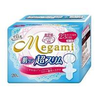 Прокладки Daio Megami ультратонкие Elis Мини с крылышками 23 см 20шт
