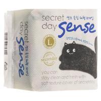 Прокладки Secret Day ультратонкие дышащие органические Sense Large 28 см 10 шт.