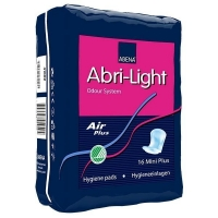 Прокладки урологические Abena Abri-Light легкая степень недержания Mini Plus 16 шт. упак.
