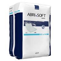 Простыни (пеленки) Abena Abri-Soft впитывающие Basic 60X60 см 60 шт. упак.