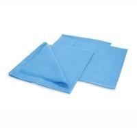 Простыня стерильная 200х70 см (сммс1) плотн. 18г/м голубая 1 шт.