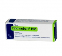 Протафан hm флаконы 100 ме/мл , 10 мл