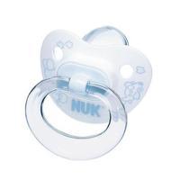 Пустышка NUK Baby Blue для сна с кольцом силикон р. 2