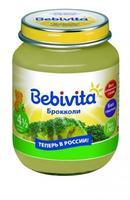 Пюре Бэбивита (Bebivita) брокколи 4 5 мес. 100г упак.
