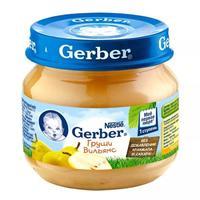 Пюре Gerber груши Вильямс 4 мес. 80г упак.