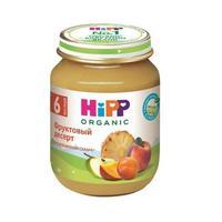 Пюре Hipp фруктовый десерт с 6 мес. 125г 1 шт.