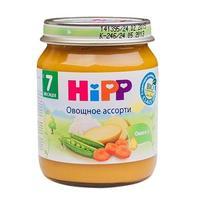 Пюре Hipp овощное ассорти с 7 мес. 125г 1 шт.