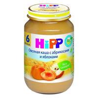 Пюре Hipp овсяная каша с абрикосами и яблоками с 6 мес. 190г 1 шт.