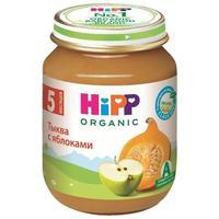 Пюре Hipp тыква с яблоками с 5 мес. 125г 1 шт.