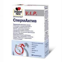 Доппельгерц v.i.p. спермактив капс. 1020мг №30 (бад)