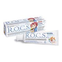 R.O.C.S. Зубная паста для детей 3-7лет Фруктовый рожок без фтора 45г
