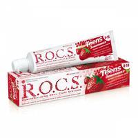 R.O.C.S. Зубная паста для детей 8-18лет Земляника 74г
