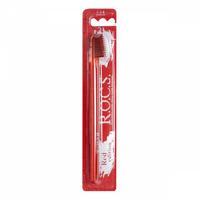 R.O.C.S.зубная щетка классическая средняя Red Editon (красная) 1 шт.