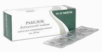Рабелок таблетки покрытые киш-раств.оболочкой 10 мг 14 шт.