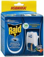 Raid фумигатор с регулятором интенсивности+жидкость 30 ночей 1 уп.