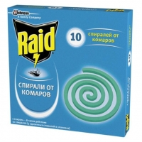 Raid спираль от комаров 10 шт
