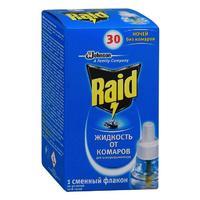 Raid жидкость для фумигатора 30 ночей 1 шт.