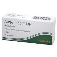 Алфупрост мр таблетки 10 мг, 30 шт.