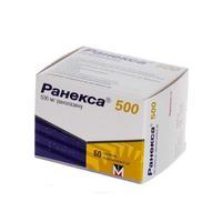Ранекса таблетки 500 мг, 60 шт.