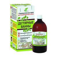 Раствор Натуротерапия для принятия ванн Дегтярные ванны 500 мл
