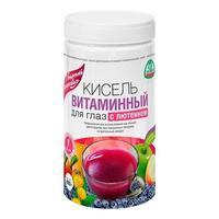 Кисель леовит витаминный для глаз с лютеином диетический банка 400г