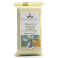 Рецепты Бабушки Агафьи салфетки универсальные липовый цвет 10 шт.
