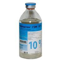 Рефортан гэк флаконы 10% , 500 мл, 10 шт.