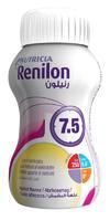 Ренилон пласт. бутылка вкус абрикос, 125 мл