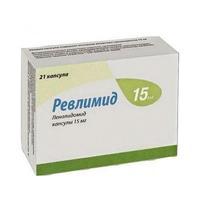 Ревлимид капсулы 15 мг, 21 шт.