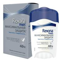 Rexona Антиперспирант-крем мужской Максимальная Защита Чистота и Уверенность