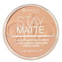 Rimmel Пудра спрессованная Stay Matte Re-pack silky beige 005 тон 1 шт.
