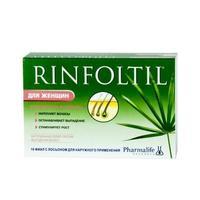 Ринфолтил Усиленная формула от выпад. волос для женщин ампулы 10 шт. упак.