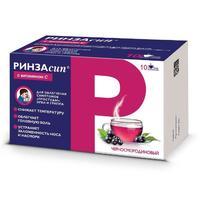 Ринзасип с витамином С порошок для р-ра для приема внутрь Черная смородина 5 г саше 10 шт.