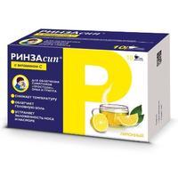 Ринзасип с витамином С порошок для р-ра для приема внутрь Лимон 5 г саше 10 шт.