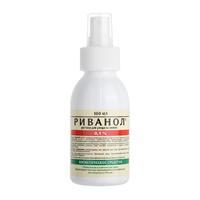 Риванол раствор 0,1 % для ухода за кожей насадка- распылитель 100 мл