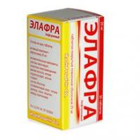 Элафра таблетки 20 мг, 30 шт.
