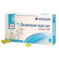 Льняное масло капсулы 500 мг, 30 шт.