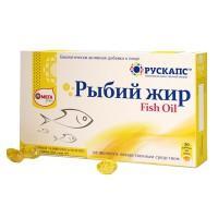 Рыбий жир капсулы 500 мг, 30 шт.